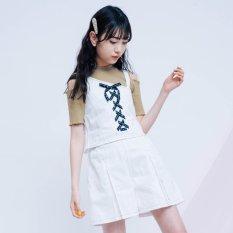 ニコ☆プチ4月号掲載 |ワンショルビスチェ3点セット