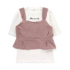 ニコ☆プチ6月号掲載 |ニコプチコラボビスチェ&リブTセット