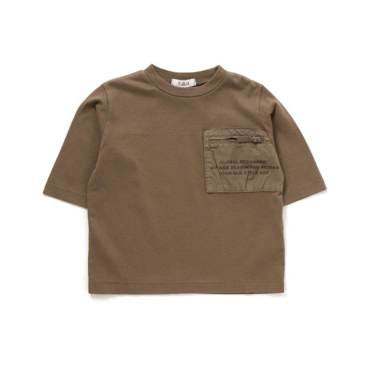七分袖 Tシャツ