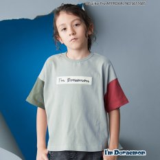 【I'm Doraemon】カラー切り替えTシャツ