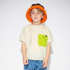 ボックスロゴポケットTシャツ