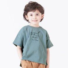6柄恐竜刺繍Tシャツ