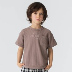 WEB限定 5分袖ワッフルTシャツ