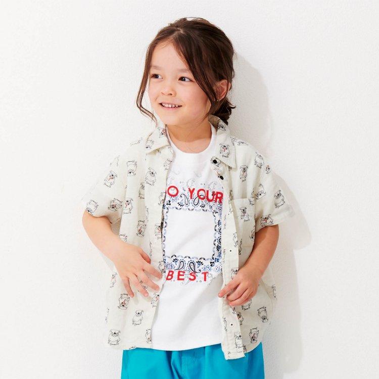麻 シャツ