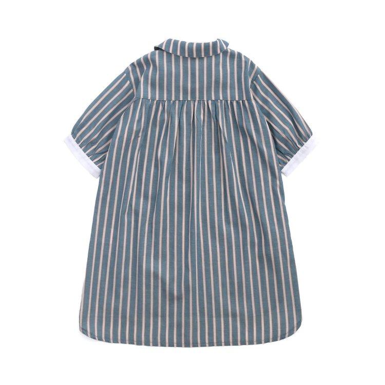 シャツワンピース 半袖