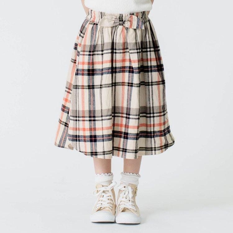 チェック スカート
