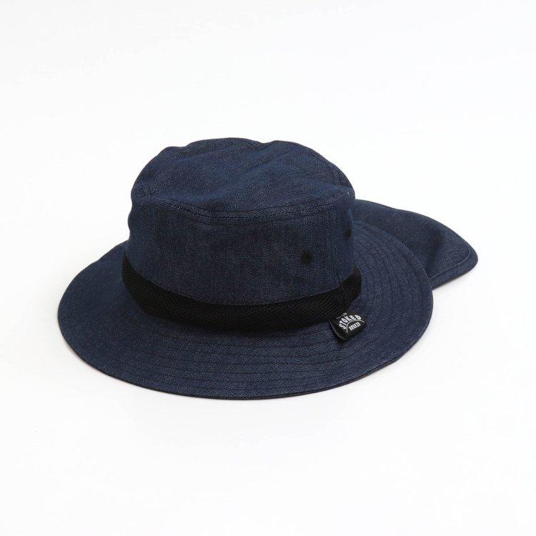 デニム 帽子