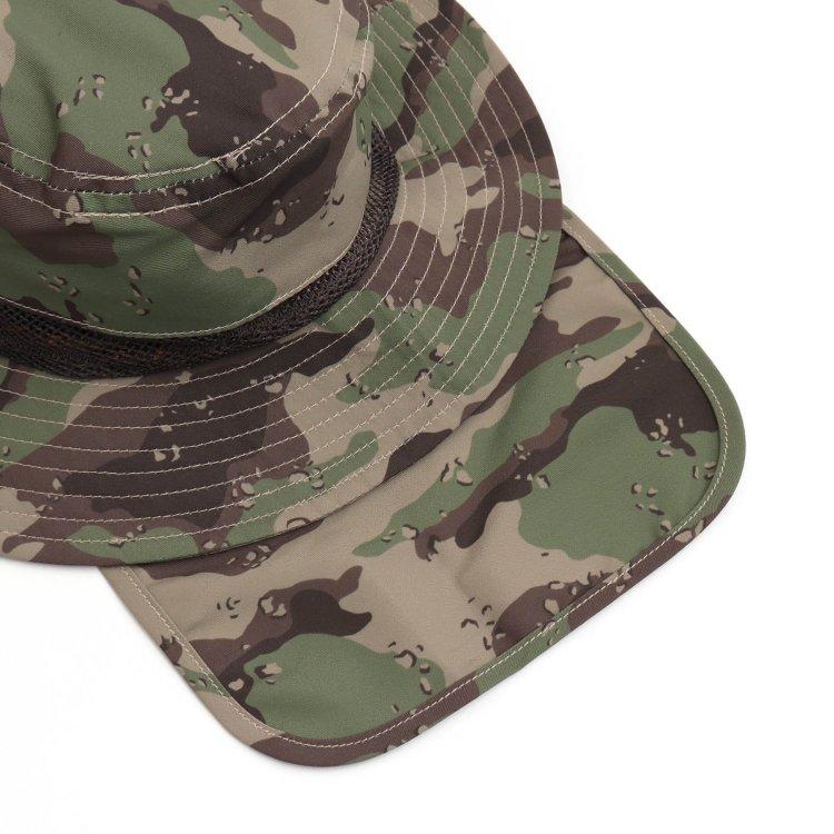 ボタニカル柄 帽子
