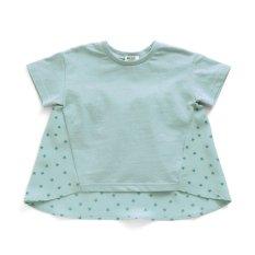 バックシャン星柄Tシャツ
