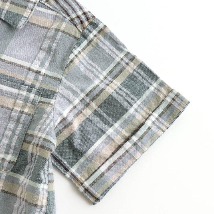 チェック 半袖