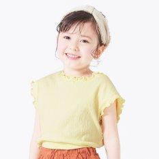 楊柳フレンチスリーブTシャツ