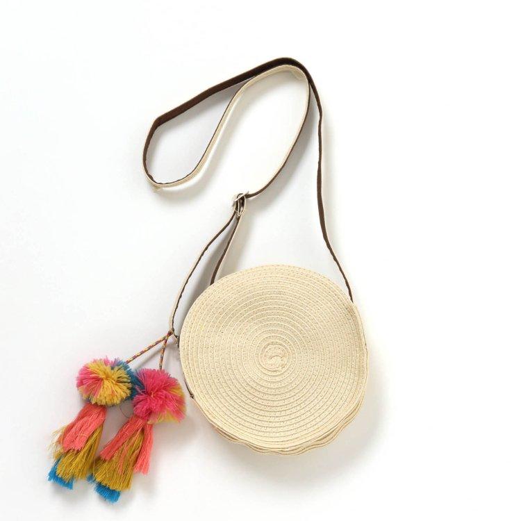 刺繍 ショルダーバッグ