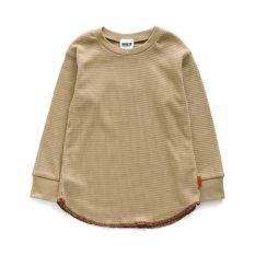 ロングワッフルTシャツ