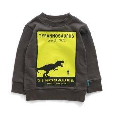 恐竜シルエットトレーナー