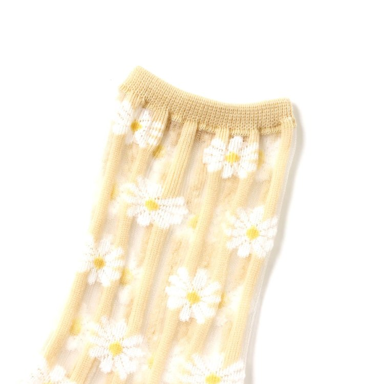 花柄 靴下
