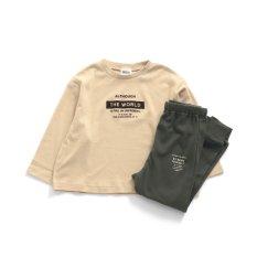 男児ロゴパジャマ