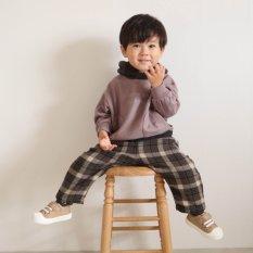 WEB限定 バイカラーパーカー 【BREEZE by yumi.】
