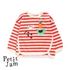 PetitJam ボーダーTシャツ