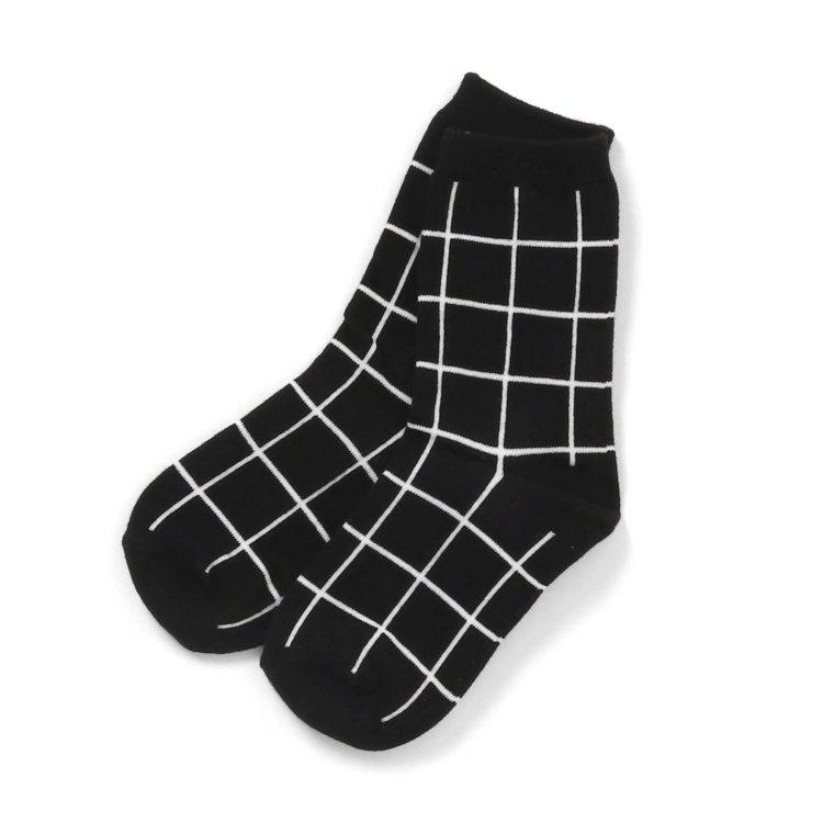 チェック 靴下