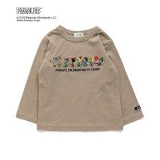 PEANUTSコラボ刺繍Tシャツ(スヌーピー)