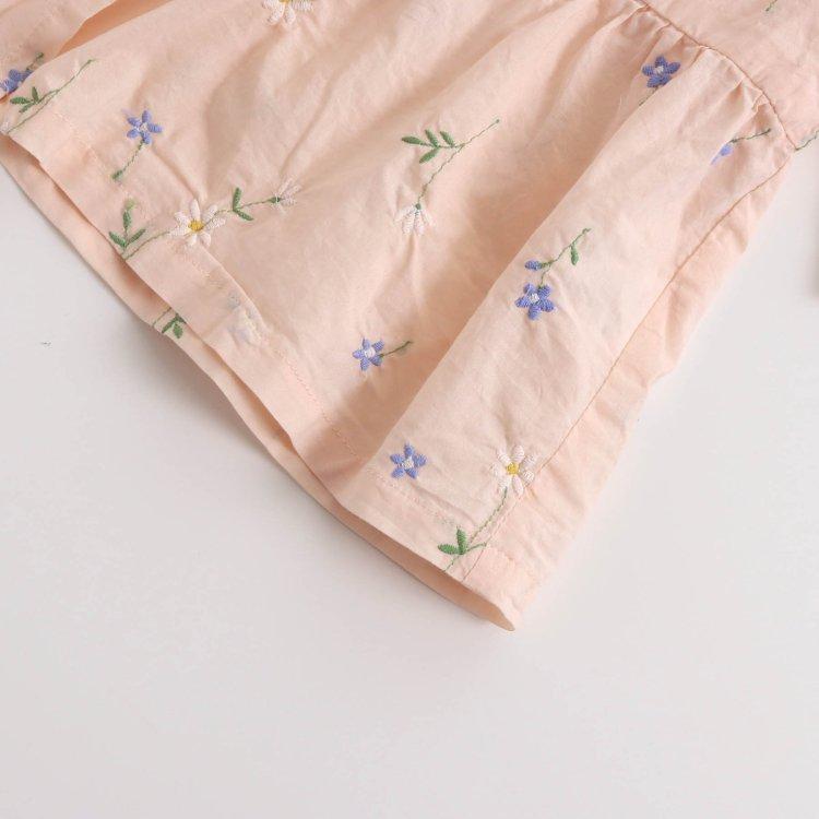 花柄 刺繍