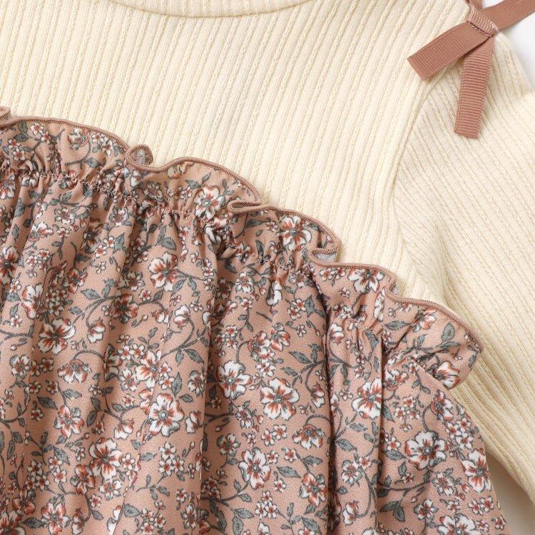 花柄 長袖