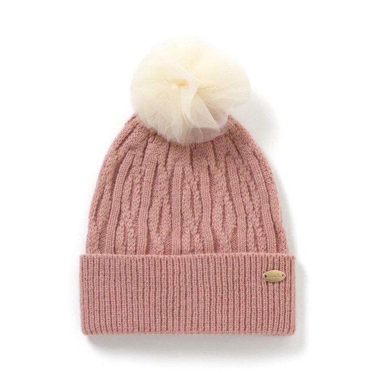 チュール 帽子