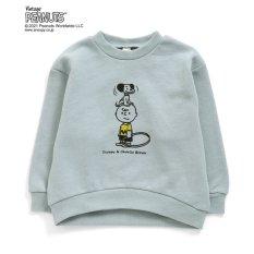 Charlie Brown(チャーリー・ブラウン) 3柄トレーナー