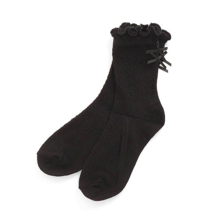 靴下 無地
