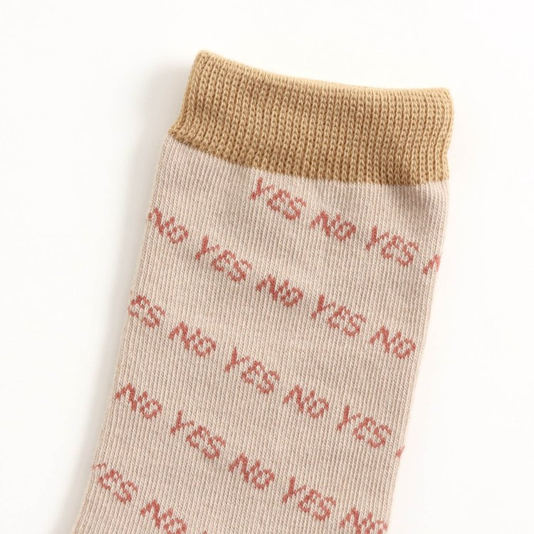 英字 靴下