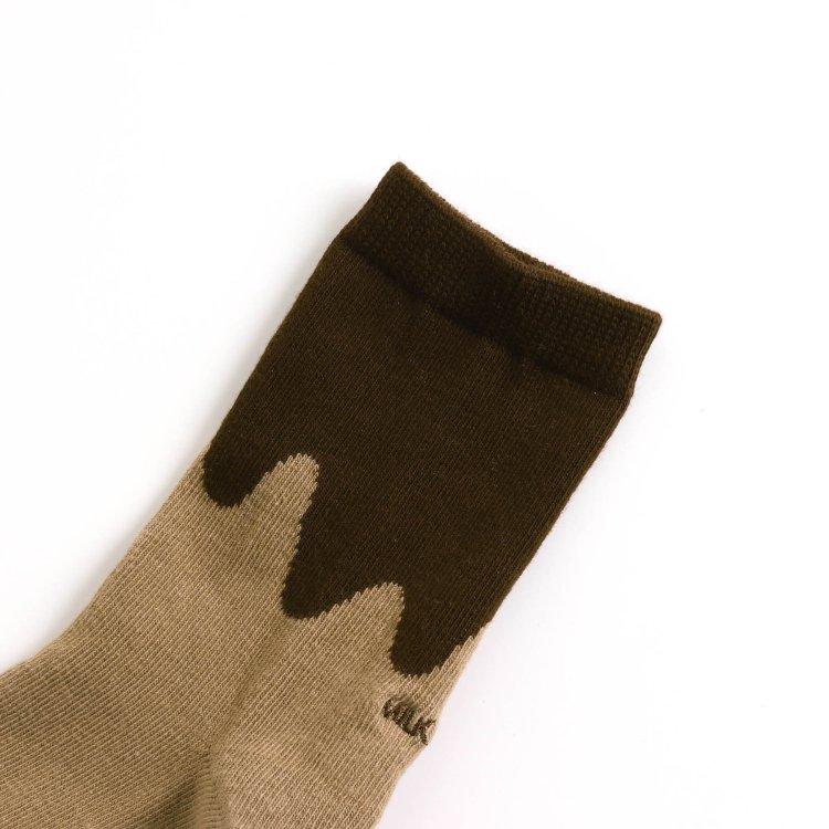 チョコ柄 靴下