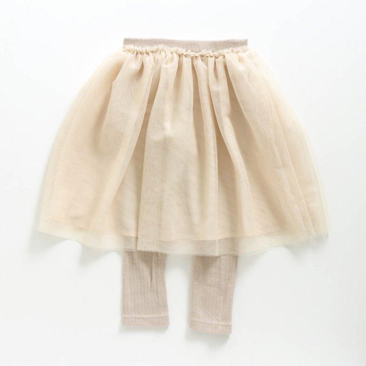 レギンス付き スカート