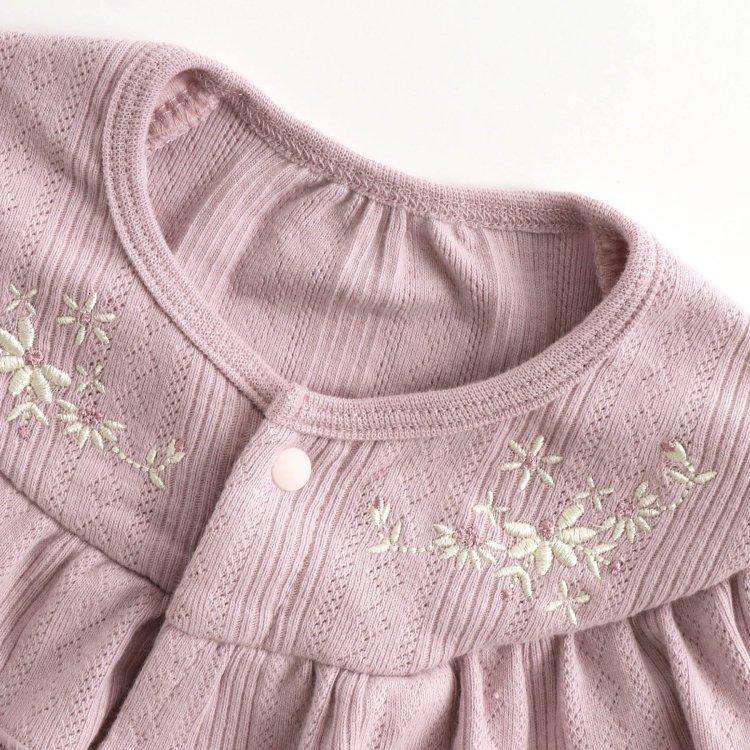 メッシュ 刺繍