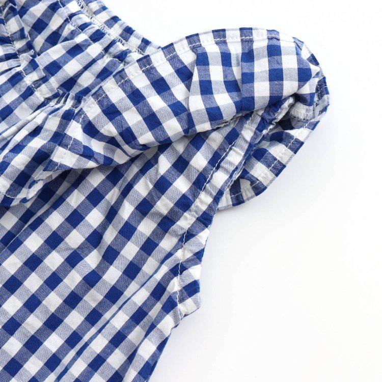 フリル 半袖