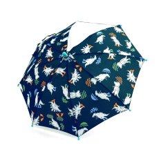 雨の日恐竜柄傘