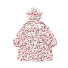 お花柄ランドコート