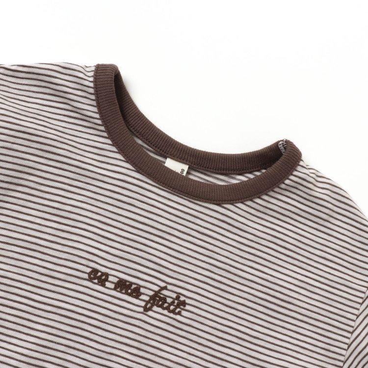 ラウンドネック シャツ