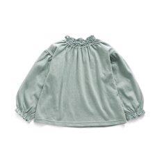 衿フリルTシャツ