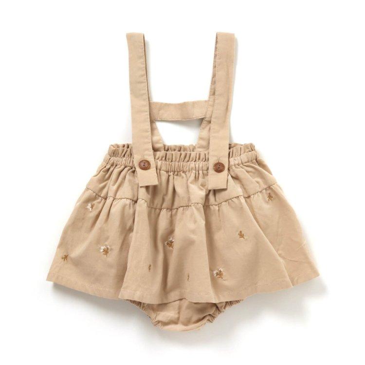 刺繍 スカート