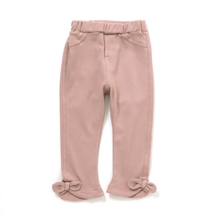 裾リボン パンツ