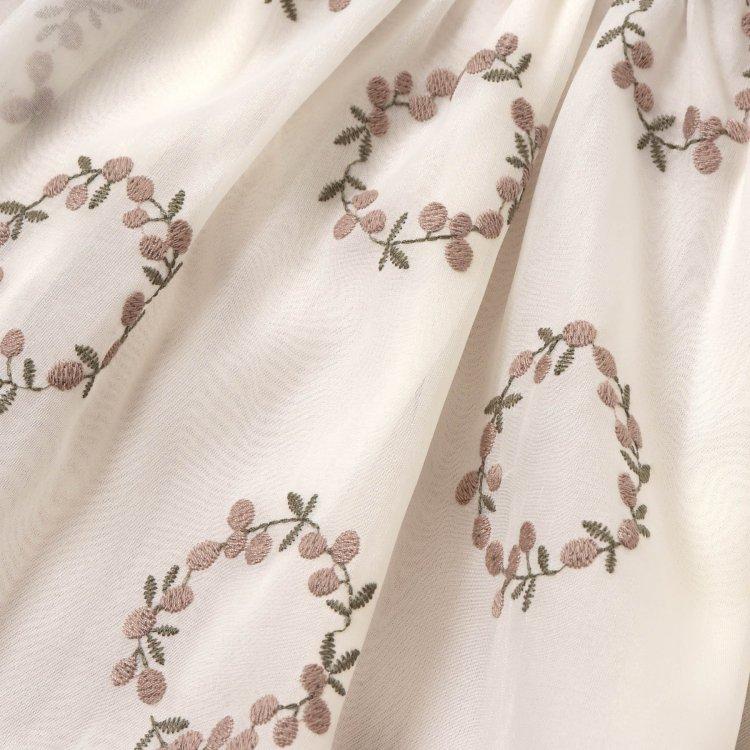長袖 刺繍