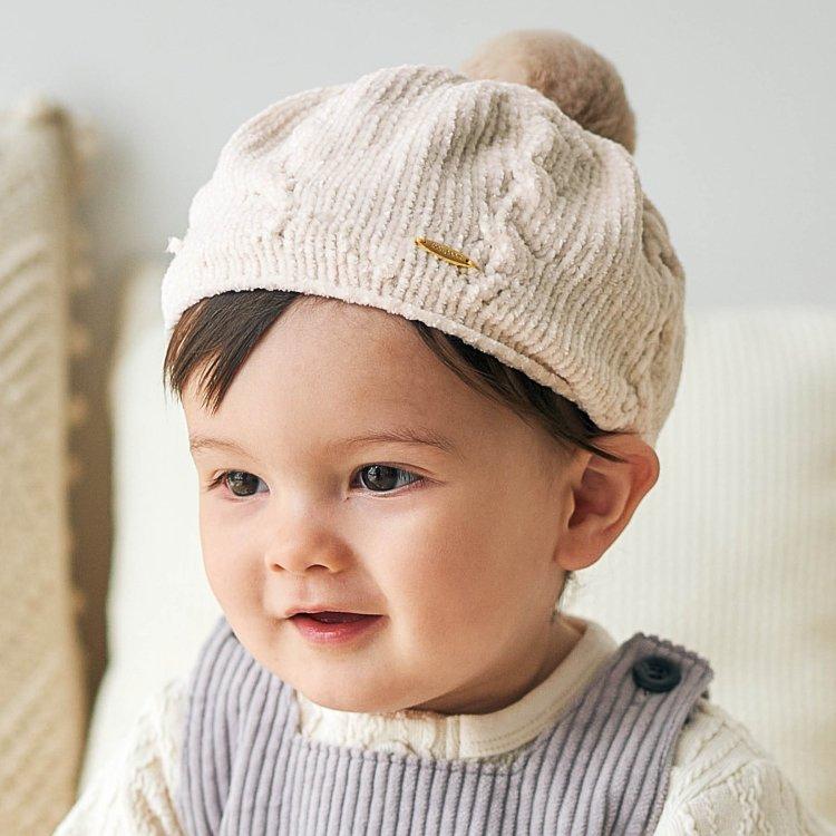 ベレー帽 ポリエステル