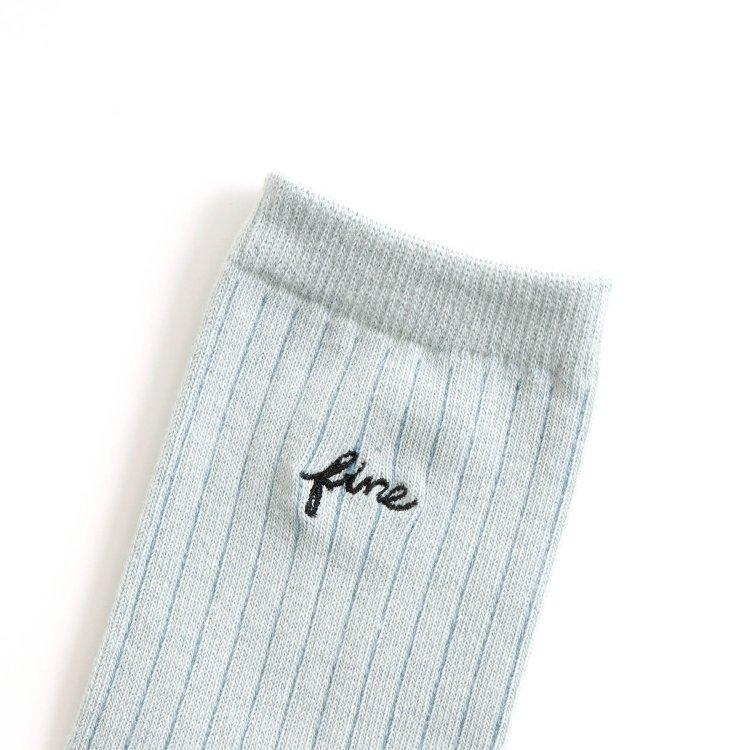 靴下 ロゴ