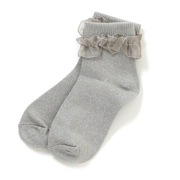 フリル 靴下