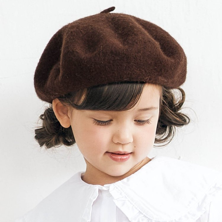 apres les cours ベレー帽