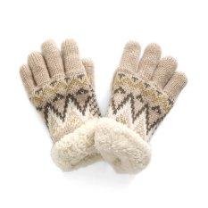 ノルディック柄手袋